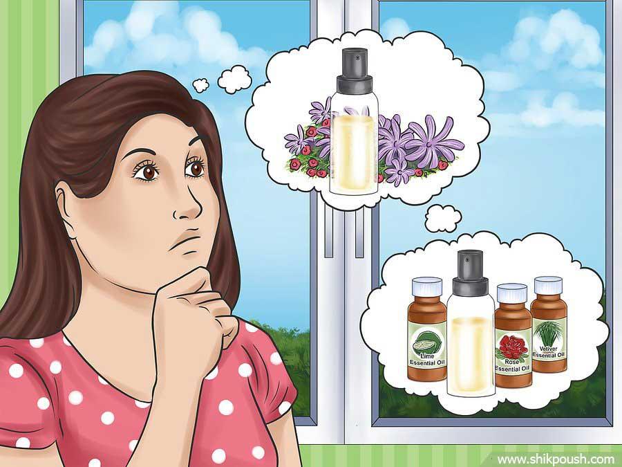 روش اول ساخت عطر