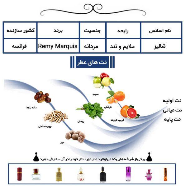 عطر شالیز Shalis