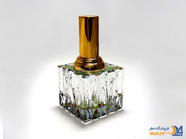 شیشه عطر اسپری کریستالی همراه با جعبه مخمل کد 3
