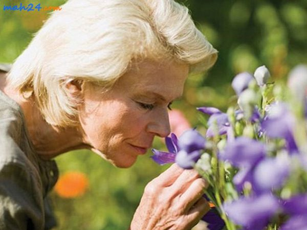 درمان کاهش حس بویایی ناشی از افزایش سن