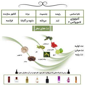 عطر آنتولوژی لاموروکس 6