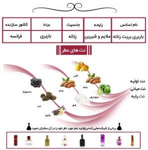 عطر باربری بریت زنانه