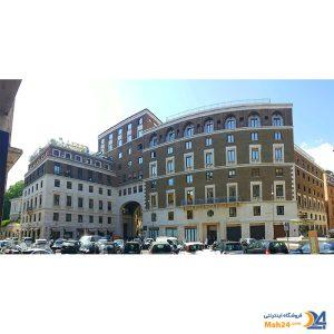 ساختمان بولگاری برند لوکس ایتالیایی