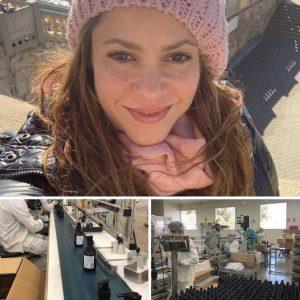 توقف تولید عطر کارخانه شکیرا در اسپانیا و تولید محلول ضد عفونی کننده