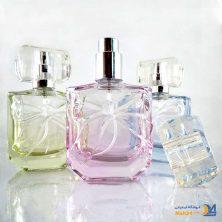 شیشه عطر پاپیونی کریستالی